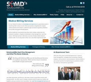 Solutions 4 MDs WordPress Website Development