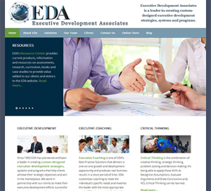 Executive Development Associates WordPress Website Genesis