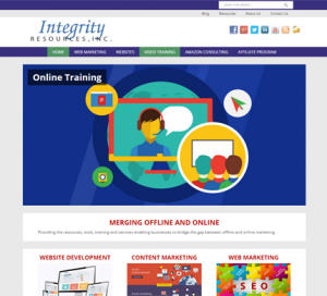 Integrity Resources WordPress Website