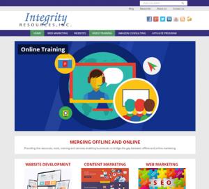 Integrity Resources WordPress Website
