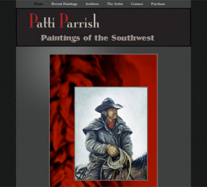 Patti Parrish Art WordPress Website Genesis