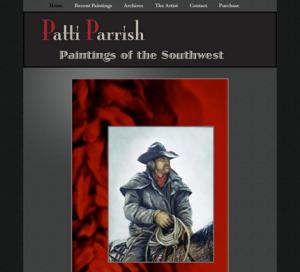 Patti Parrish Art WordPress Website Genesis