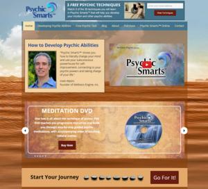 Psychic Smarts WordPress Website