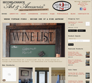 Second Chance Art WordPress Website Genesis