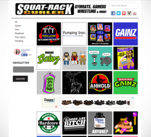 Squat Rack Curler WordPress Website Genesis