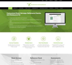SurveySaurus WordPress Website
